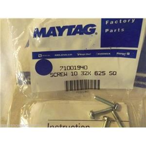 KITCHEN AID REFRIGERATOR 71001940 W10296804 Screw Kit (pack of 4)   NEW IN BAG