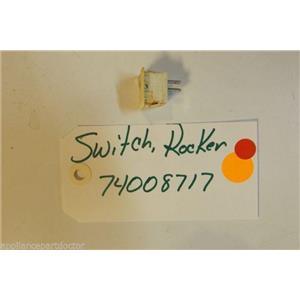 AMANA  STOVE 74008717 Switch, Rocker (wht)  USED