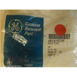 GE Stove  WB24X5235  Latch Release Switch   NEW IN BOX