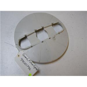MAYTAG DISHWASHER 99001796 GRAY FILTER GUARD USED PART ASSEMBLY