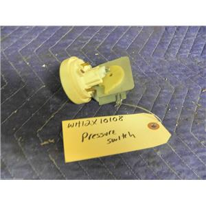 GE WASHER WH12X10108 PRESSURE SWITCH USED PART ASSEMBLY FREE SHIPPING