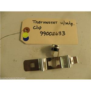 MAYTAG DISHWASHER 99002633 LIMITING THERMOSTAT W/ CLIP USED PART ASSEMBLY F/S