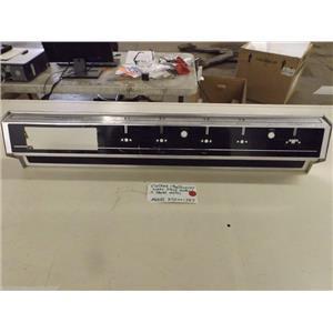 Model KSD441387 Vintage Montgomery Ward Stove Control Panel Metal  used
