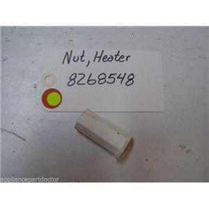 WHIRLPOOL DISHWASHER 8268548 HEATER ELEMENT NUT USED PART ASSEMBLY