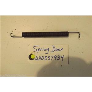 WHIRLPOOL DISHWASHER W10337934 Spring, Door used part