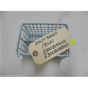 SEARS DISHWASHER 5300808845 BLUE BASKET USED PART ASSEMBLY