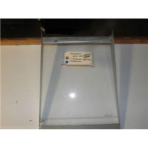 AMANA REFRIG 10036019 D7862902 D7862901 MEAT KEEPER GLASS SHELF W/ SIDE RAIL