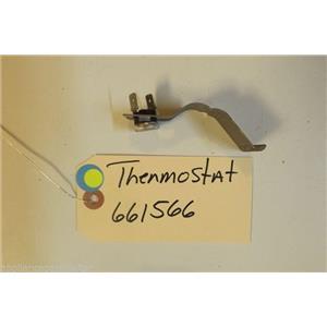 KITCHENAID  DISHWASHER 661566  Thermostat  USED PART
