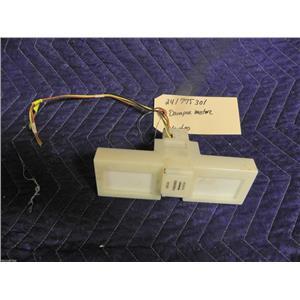 ELECTROLUX REFRIGERATOR 241775301 DAMPER MOTOR USED PART ASSEMBLY
