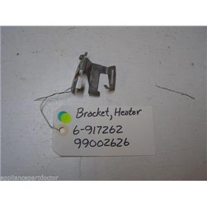 MAYTAG DISHWASHER 6-917262 99002626 HEATER SUPPORT BRACKET USED PART ASSEMBLY