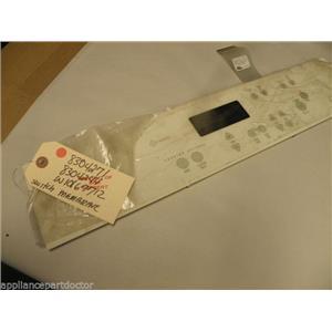 WHIRLPOOL RANGE 8304271 8304244 W10167712 W10167712 MEMBRANE SWITCH NEW W/O BOX