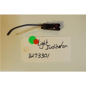 WHIRLPOOL Stove 8273301 Light, Indicator  USED PART