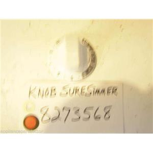 KENMORE STOVE 8273568  Knob Sure simmer   USED  PART