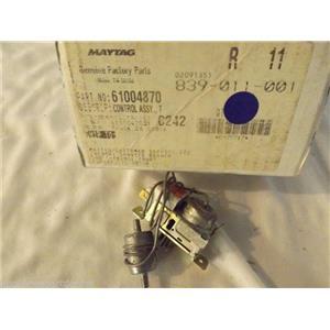 CROSLEY MAGIC CHEF REFRIGERATOR 61004870 Control , Temperature     NEW IN BOX