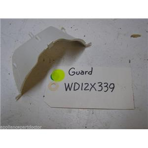 GE DISHWASHER WD12X339 GUARD USED PART ASSEMBLY