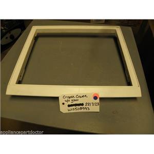 REFRIGERATOR 2217123 W10508993 Crisper cover w/o glass