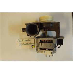 GE DISHWASHER 165D6201P001   Pump, motor   used part