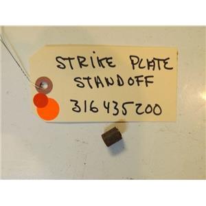 FRIGIDARE STOVE 316435200 Standoff,strike Plate   used