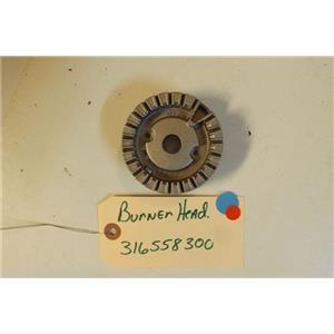 KENMORE STOVE 316558300  Burner head   used