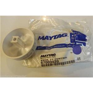 Maytag Amana refrigerator 67003420 Knob, Fz Control NEW IN BOX