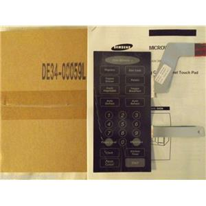 SAMSUNG/MAYTAG MICROWAVE DE34-00059L Touch Pad Membrane NEW IN BOX