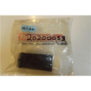 Whirlpool Maycor Jenn Air 20200053 Handle (black)  NEW IN BOX