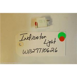 GE Stove  WB27T10626 Indicator Light   USED PART