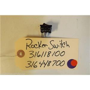 KENMORE STOVE 316118100   316448700  Rocker switch oven light 2 prong 10 a  125v