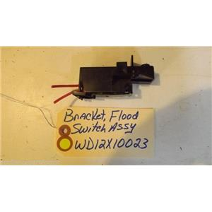 GE DISHWASHER WD12X10023 Bracket Flood Switch used part