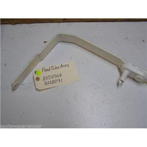 WHIRLPOOL DISHWASHER 8558968 8268291 FEED TUBE USED PART ASSEMBLY