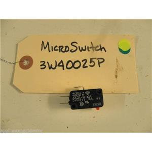 LG DISHWASHER 3W40025P MICRO SWITCH USED PART ASSEMBLY