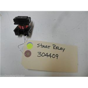 WHIRLPOOL DISHWASHER 304409 START RELAY USED PART ASSEMBLY