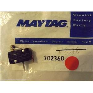 JENN AIR KENMORE MAYTAG STOVE 702360 Y702360 Switch, Solenoid    NEW IN BAG