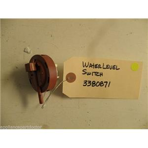 KENMORE DISHWASHER 3380871 WATER LEVEL SWITCH USED PART ASSEMBLY F/S