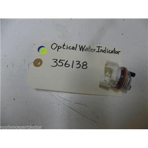 WHIRLPOOL DISHWASHER 356138 OPTICAL WATER INDICATOR USED PART ASSEMBLY