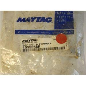 Maytag Admiral Stove  1555258K  3/8`` Nut & Ferrule  NEW IN BOX