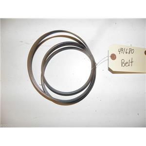 BOSCH WASHER 491680 BELT USED PART ASSEMBLY FREE SHIPPING