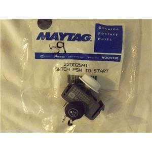 MAYTAG/ADMIRAL washer 22002541 Switch, Push To Start   NEW IN BOX