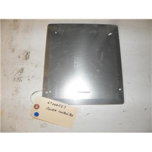 AMANA REFRIGERATOR 67006427 CONTROL BOX COVER USED PART ASSEMBLY