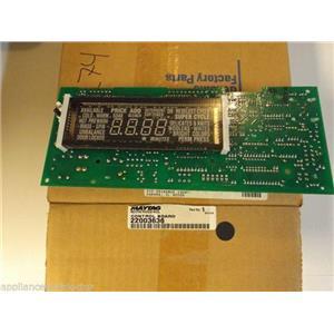 Maytag Washer  22003636  Control Board NEW IN BOX