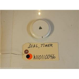 Whirlpool Washer   W10110046  Dial, Timer   used