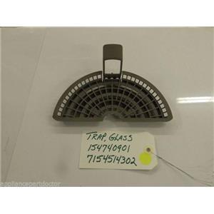 Electrolux Dishwasher 154740901  7154514302  Trap,glass  used