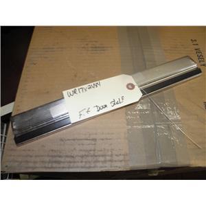 GENERAL ELECTRIC GE SIDE/SIDE REFRIGERATOR WR17X2484 FRESH FOOD DOOR SHELF USED