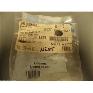 Maytag Crosley Amana Admiral Washer 21001910 Brake Spring  NEW IN BOX