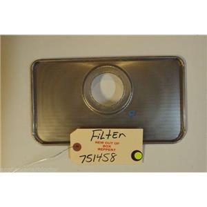 BOSCH DISHWASHER 751458  Filter   NEW W/O BOX
