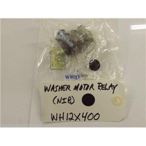 GE Washer  WH12X400  Washer Motor Relay   NEW IN BOX
