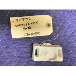 ELECTROLUX REFRIGERATOR 241779702 MULLION FLIPPER GUIDE USED PART ASSEMBLY