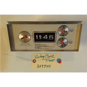 KENMORE STOVE 329940 Vintage clock timer control fits model 911.9388412