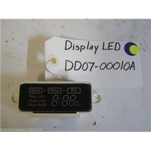 Samsung DISHWASHER Display led DD07-00010A   used part