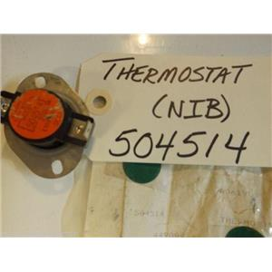 Amana Dryer  504514  THERMOSTAT   NEW IN BOX